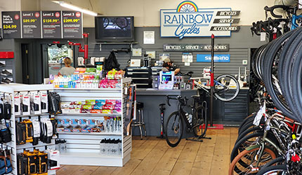 Rainbow Bicycle Shop