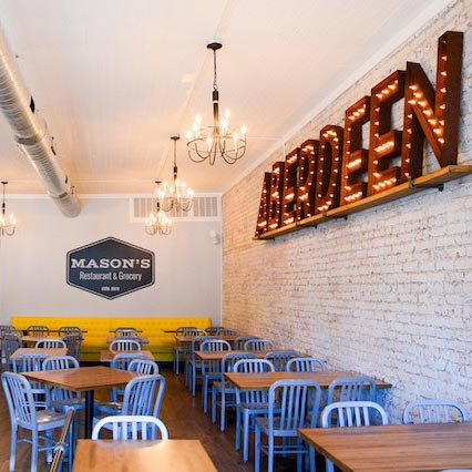 Mason's Comes to Aberdeen with a Southern Flair