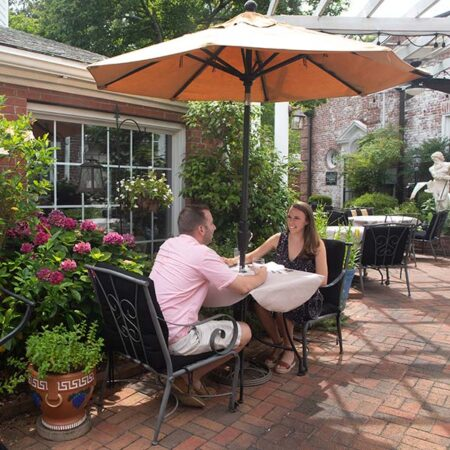 Outside Patio at Theo's in Pinehurst