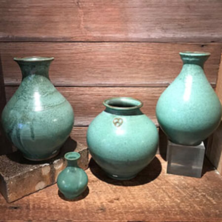 Jugtown Pottery vases